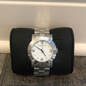 Marc Jacobs stainless steel women's watch